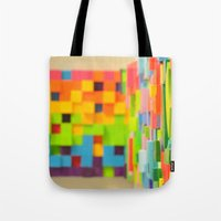 Wall Scape Tote Bag