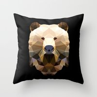 Polygon Heroes - The Lord Commander Throw Pillow