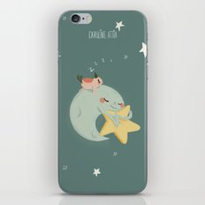 Moon Nap iPhone & iPod Skin
