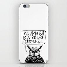 Said Owl iPhone & iPod Skin