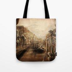 You See Bones Tote Bag