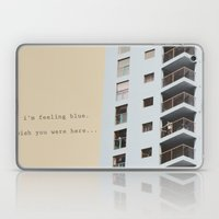 Postcard From A Tower Bl… Laptop & iPad Skin