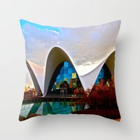 Aquarium: Valencia, Spain Throw Pillow