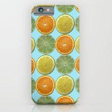 Lemons, Limes, Oranges, Oh my!  Citrus Photography iPhone 6 Slim Case