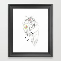 Air Tectonic - Ink And P… Framed Art Print