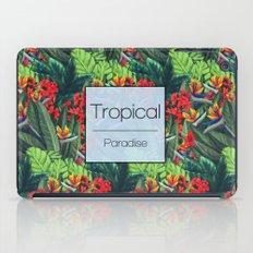 Tropical Paradise iPad Case