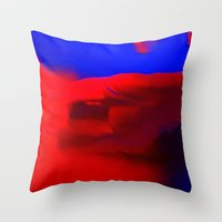 L'assassinat De Caligula Throw Pillow