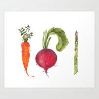 Veggie 1 Art Print