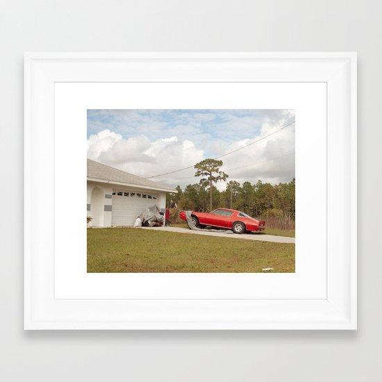 American Dreamin' Framed Art Print