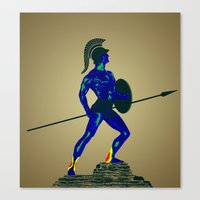 Achiles - Weakness Visio… Canvas Print