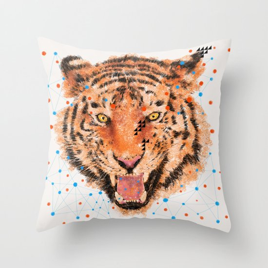 TIGER I Throw Pillow