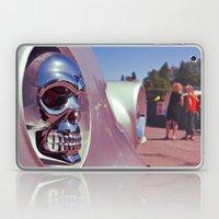 Skull car ornament Laptop & iPad Skin