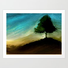 Meltree Art Print