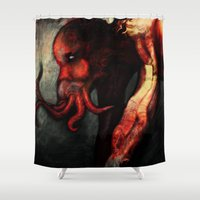 Are you there Cthulu? it's me... Shower Curtain