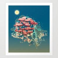 Journey /Discovery  Art Print