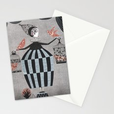The Bird Act Stationery Cards