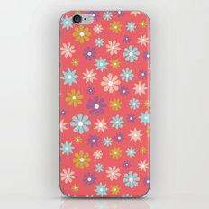 Butterfly Garden - Daisies iPhone & iPod Skin