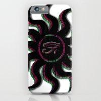 Purple Egyptian Sun iPhone 6 Slim Case