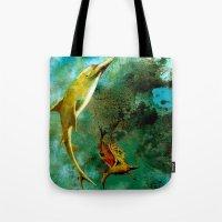 Delphin Tote Bag