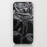 Silver Rose iPhone 6 Slim Case