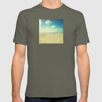 Life's Better At The Bea… Mens Fitted Tee Lieutenant SMALL