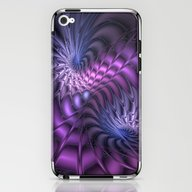 Fractal A Moment In Time iPhone & iPod Skin