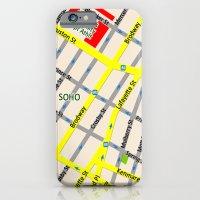 NEW YORK Map Design - SO… iPhone 6 Slim Case