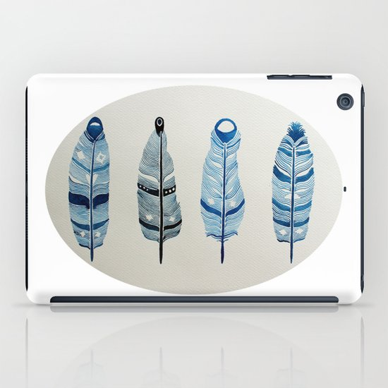 The four siblings of mother bird iPad Case