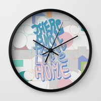There Is NO Place Like H… Wall Clock