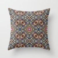 Abstract Geometric Surfa… Throw Pillow