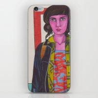 My Name Is Jessica Hyde iPhone & iPod Skin