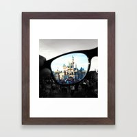 Put Your Imagination Into Focus Framed Art Print