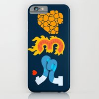 iPhone & iPod Case featuring Fantastic Numbers by Carlos Rocafort