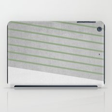 Concrete & Stripes II iPad Case