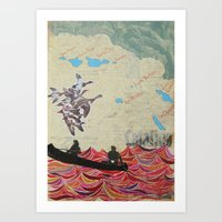 Channel Islands Art Print