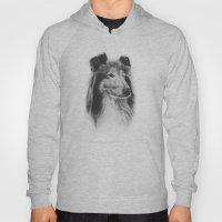 Rough Collie Dog Best Friend Lassie Hoody