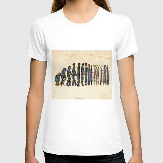 Barcode Evolution T-shirt