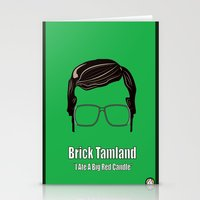 Brick Tamland: Weather Stationery Cards