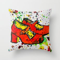 Shoe-Be-Do 1 Throw Pillow