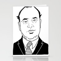 Al 'Scarface' Capone Stationery Cards