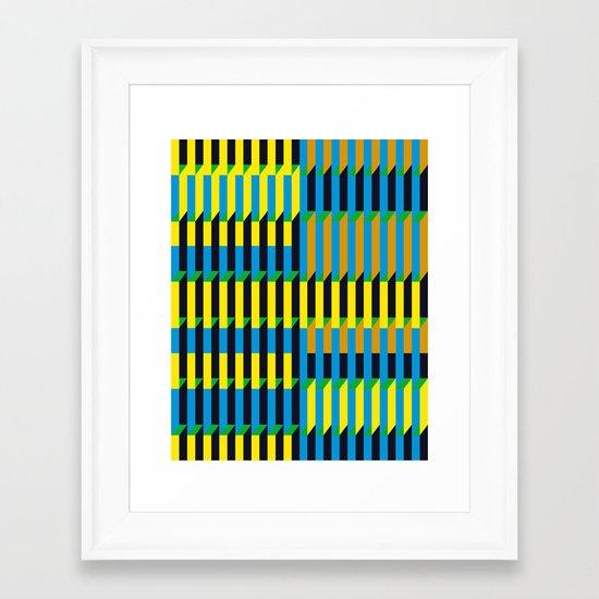 Cinetism Framed Art Print