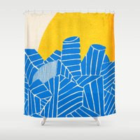 - be nuclear - Shower Curtain