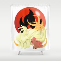 Of Many Tails Shower Curtain
