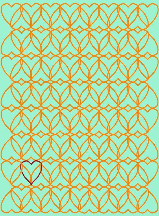 Intertwined Love Art Print
