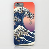 The Great Wave Of  Frenc… iPhone 6 Slim Case