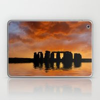 Stonehenge Sunrise, Wiltshire Laptop & iPad Skin