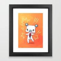 Dancing Bear Framed Art Print