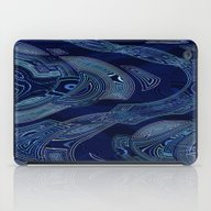 iPad Case featuring Geometric Water by AnaAna