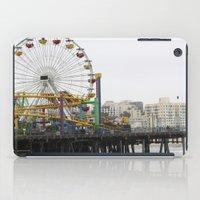 Santa Monica Pier iPad Case