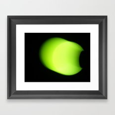 Moon, walking. Framed Art Print